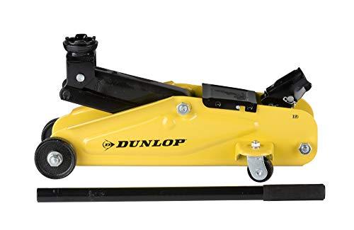 Dunlop Hydraulischer Wagenheber/Sche Scherenheber-2000 Kilo-Gelb und Schwarz