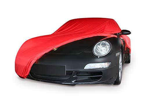elegant formanpassend Autoschutzdecke Perfect Stretch atmungsaktiv f/ür den Innenbereich Farbe Silbergrau Car-e-Cover