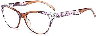 TT WARE Unisex Ultra-Light PC Full Frame Glasses Reading Glasses HD Resin Eyeglasses-Brown-1.0