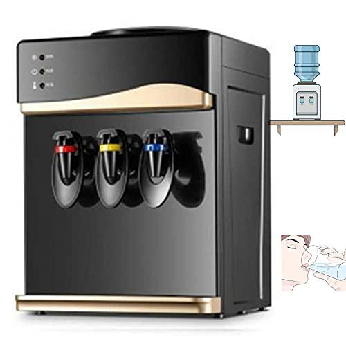 Dispensador de Enfriador de compresor de encimera - Dispensador de Agua, Agua Caliente y fría,Oro