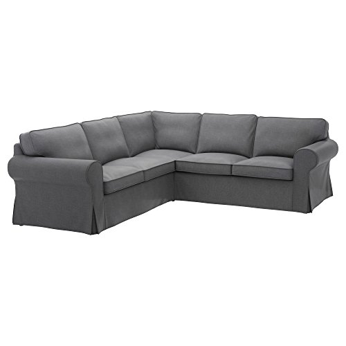 IKEA Original Ektorp Cover for sectional, 4-Seat Corner (Cover Only (Nordvalla...