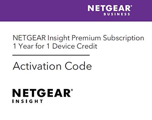 Netgear Insight Premium Aktivierungscode für Netgear Insight Hardware (1 Jahr