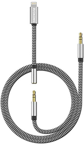 [New Version] 3-in-1 Aux Cord for iPhone, Autynie 3.5mm Aux Cable Compatible with iPhone 12/11/7/X/8Plus/XSMax/XR to Car Stereo/Speaker/Headphone, Support Newest iOS 12/13.1/14.7 Version or Above