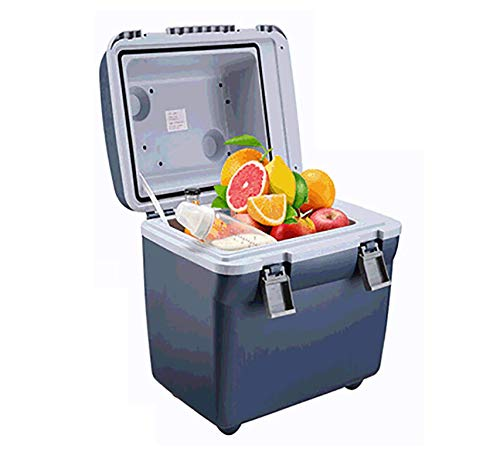 Coche frigorífico congelador, 20L eléctrica Enfriador y Calentador, 12V DC Powered, portátil Ligero, Compacto, portátil y silencioso kshu