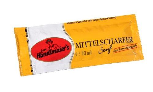 Händlmaier Mittelscharfer Senf 200 Stück - 1 X 200 Stück