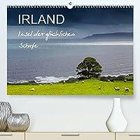 IRLAND - Insel der gluecklichen Schafe (Premium, hochwertiger DIN A2 Wandkalender 2022, Kunstdruck in Hochglanz): Echt irisch, echt Scha(r)f! (Monatskalender, 14 Seiten )