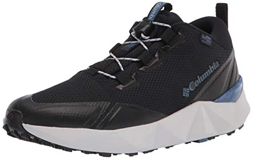 Columbia womens Facet 30 Outdry Hiking Shoe, Black/Night Tide, 8 US