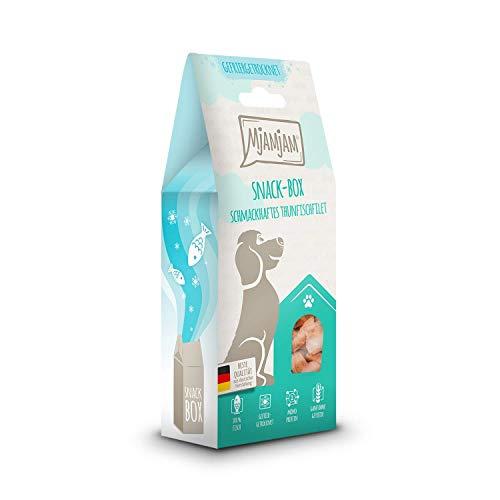 MjAMjAM - Premium Snackbox für Hunde - schmackhaftes Thunfischfilet, gefriergetrocknet, 1er Pack (1 x 70 g)