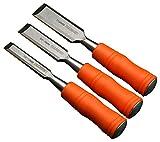 Harden Chrome Vanadium Steel Durable Woodwork Wood Carving Chisel Set -Sharp Knife Edge