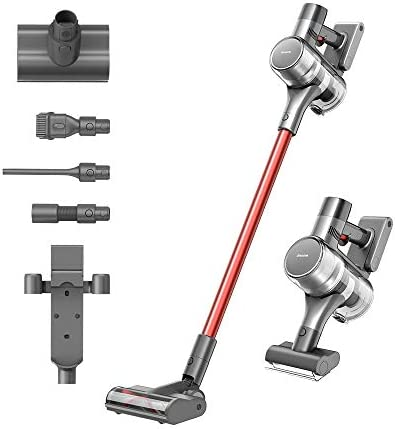 DreameTech T20 Cordless Vacuum Cleaner with All in one HD Screen 70 mins Runtime Lightweight product image