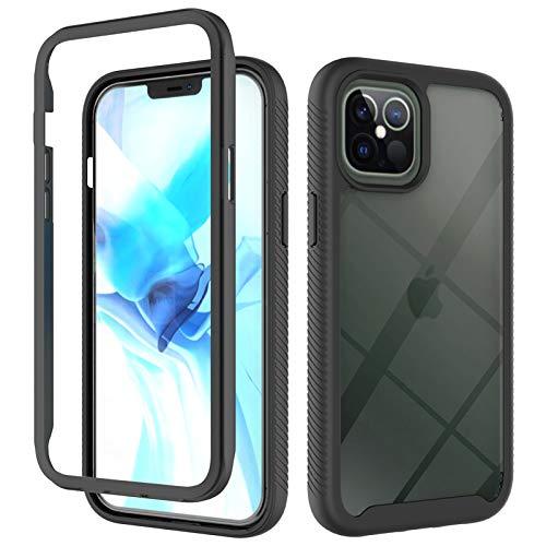 Schutzhülle für iPhone 12 Pro Max (6,7 Zoll), Polycarbonat und TPU.