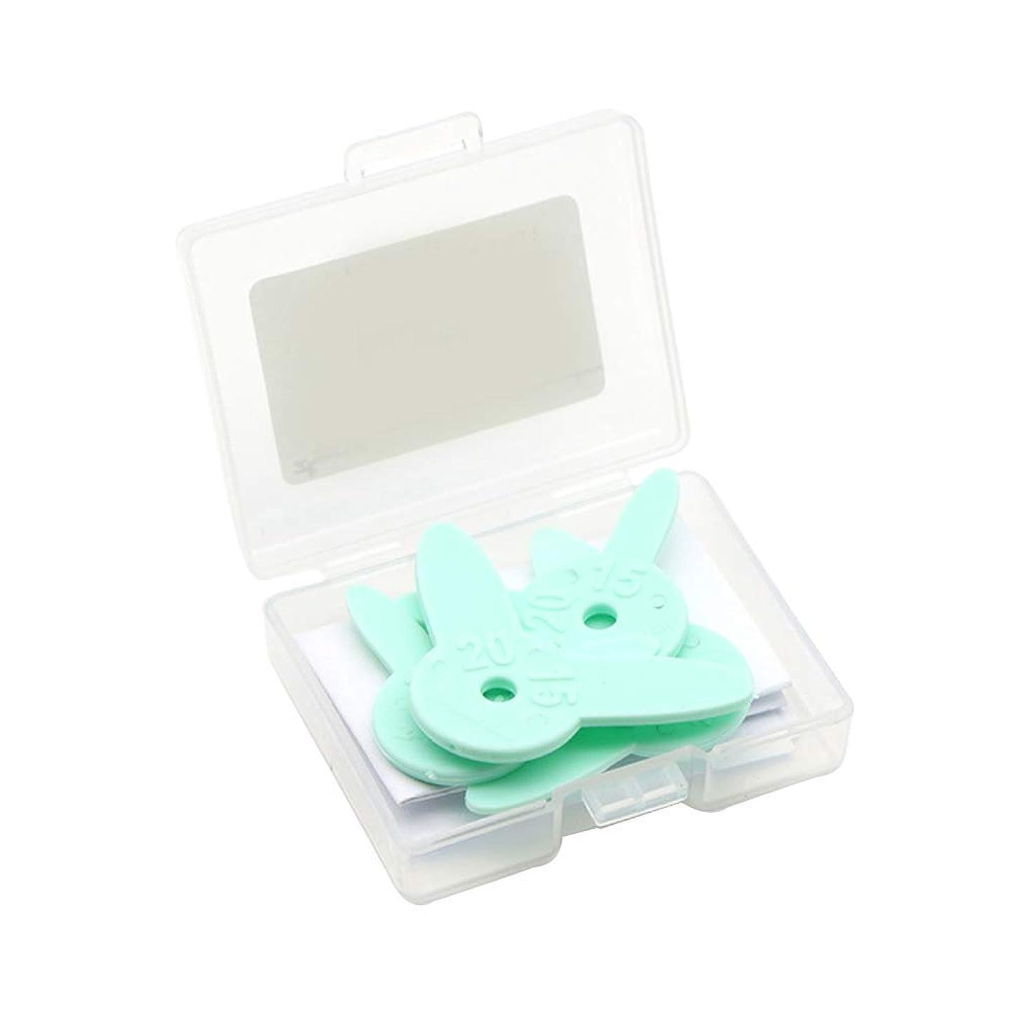 抑圧苦情文句放射するHealifty 4Pc歯科材料歯科ギャップ測定ルーラ歯列矯正隣接グレージングカットエイドギャップ測定