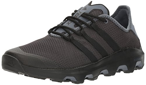 adidas outdoor Men's Terrex Climacool Voyager Water Shoe, Black/Black/Onix, 7.5 M US