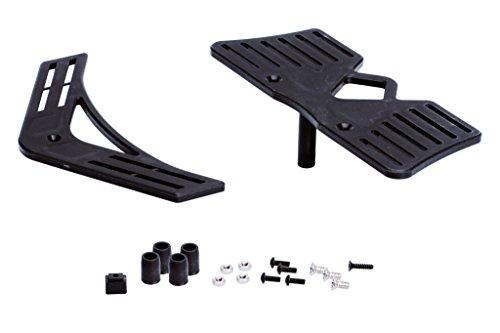 LRP Electronic 37195 -  Competition Starterbox Tuningparts- Truggy Plastikaufnahmen vorne/hinten   inkl. Schrauben