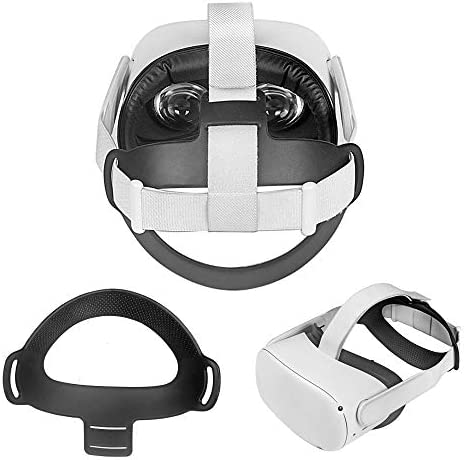 Pinson Flexible Soft TPU Head Strap Pad for Oculus Quest 2 VR Headset Comfortable Head Strap product image