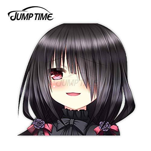 JYIP Pegatinas de Vinilo para Coche Chica de Anime Sexy Tokisaki Kurumi...