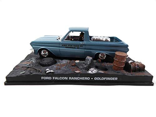 OPO 10 - Ford Falcon Ranchero 1/43 James Bond 007 dal Film Goldfinger (DY076)