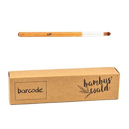 Pinceau de maquillage professionnel en bambou et poils synthétiques - Pinceau de mélange | Pinceau de maquillage Set Pinceaux cosmétiques