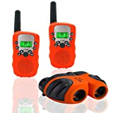 3-12 Jahre Altes Mädchen Spielzeug, JRD & BS WINL Kinder Walkie Talkie 3-12 Jahre Alter Junge...