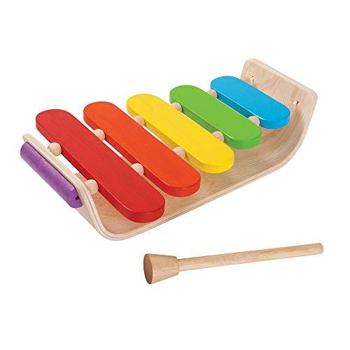PlanToys - PT6405 - Jouet en bois - Xylophone Ovale