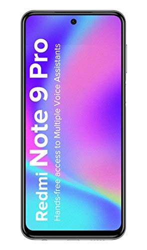 Redmi Note 9 Pro (Interstellar Black, 4GB RAM, 64GB Storage) - Latest 8nm Snapdragon 720G & Gorilla Glass 5 Protection & Alexa Hands-Free