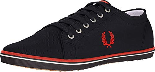 Fred Perry Kingston Twill, Carbon Blue, 10 D UK (11 US)