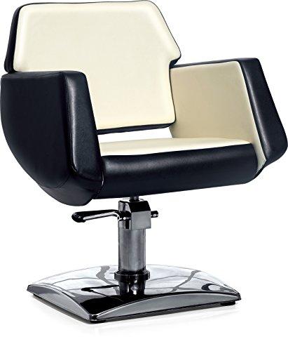 POLIRONESHOP LIBRA Chaise fauteuil pour coiffure hydraulique salon de coiffeur