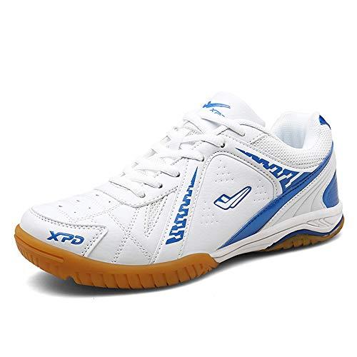 FJJLOVE Männer Frauen Badminton Schuhe, Indoor Sport-Turnschuhe No-Slip-Profi Badminton Schuhe Atmungsaktiv Tennisschuhe,38