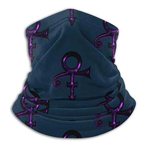 Prin-ce Purple Rain Headwear Multifunctional Neck Face Mask Bike Motorcycle Hiking dust-Proof Anti-Spray for Women Men Face Scarf Bandana