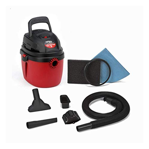 Shop-Vac Aspiradora Portatil 1.5 GAL 2.0 HP 120v con Accesorios Red