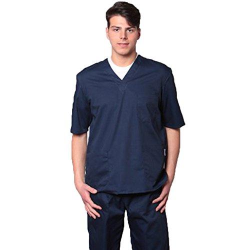fratelliditalia.org Divisa OSPEDALIERA 100% Cotone Casacca + Pantalone Scollo AV Unisex Colori A Scelta