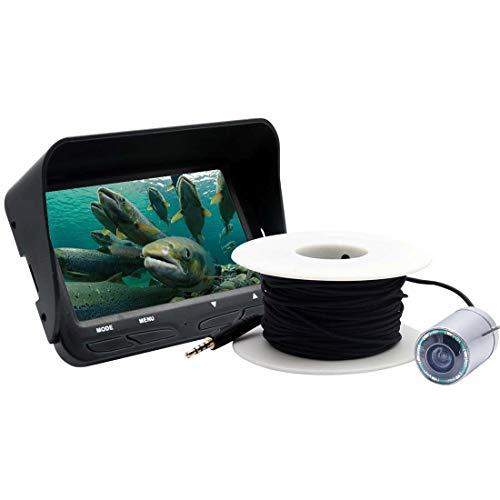 QiuGe Visuelle Fischfinder Doppel-Objektiv Visuelle Fischfinder mit Nachtsicht-Funktion X3 4,3-Zoll-Farb-LCD-Schirm-2.0MP Kamera Visuelle Fischfinder, Doppel-Objektiv Visuelle Fischfinder mit Nachtsic