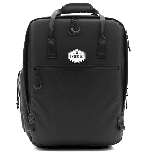 """UNDERSEAT PRO 17.5"""" Travel Backpack, Under the Seat Airline Personal Item for Spirit, Frontier, American, Delta, Southwest and Many More"""