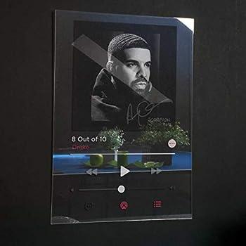 Drake - Scorpion Acrylic Plaque Modern Poster Spotify/Apple music Unique Gift Idea Transparen Album Cover Home Decor