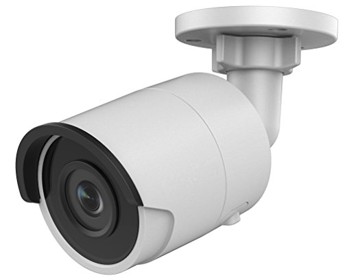 3MP PoE Security IP Camera - Compatible with Hikvision DS-2CD2032F-I Bullet,Indoor and Outdoor,Weather Proof,IR Night Vision, 4mm Lens,Best for Home and Business Security,3 Year Warranty