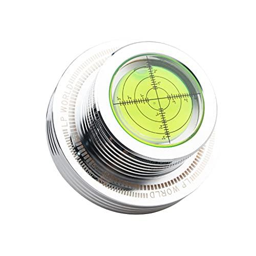 KORGALEY 50Hz Tacómetro LP vinilo tocadiscos nivel burbuja disco registro peso estabilizador...