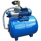 Tanti 100L Pompa dell'Acqua per Acquedotto Domestico, Pompa da Giardino da 1300W+Protezione Contro Il Funzionamento A Secco, Pompe Ad Alta Pressione da 3000L/h per Laghetti da Giardino