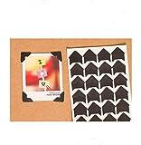 360 Count Self-Adhesive Acid Free Photo Corners Scrapbooks Memory Books (Black)