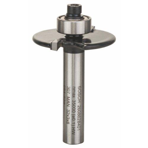 Bosch Professional Zubehör 2 608 628 401 Scheibennutfräser 8 mm, D1 32 mm, L 3 mm, G 51 mm