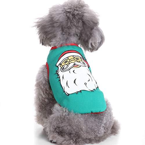 XXDYF Halloween Ropa para Mascotas Perros, Ropa Suave Y Cómoda para Festival O Navidad, Únicos Cute Cosplay Accesorios,H,M