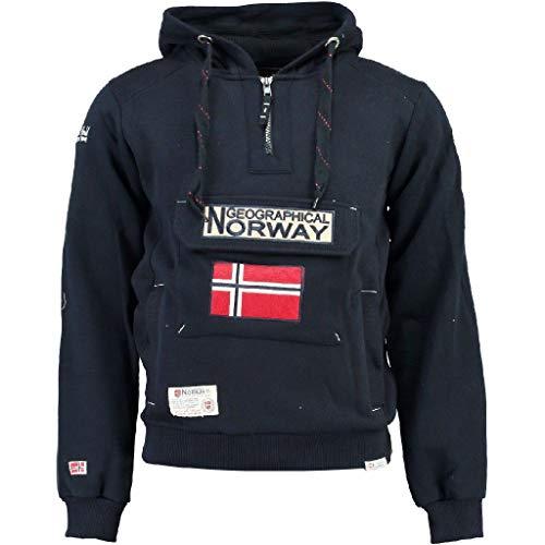 Geographical Norway Sudadera DE Hombre GYMCLASS Azul Marino Talla XXL