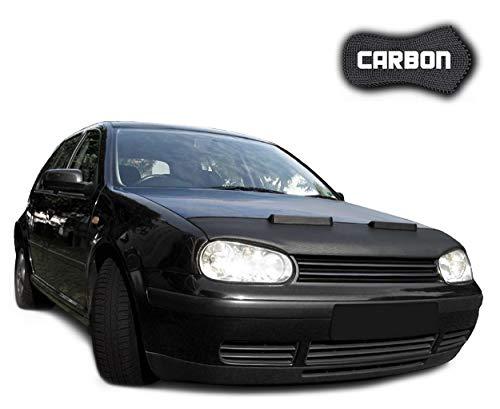 Black Bull Haubenbra für VW Golf 4 CLEAN Carbon Steinschlagschutz Motorhaubenschutz Automaske NEU