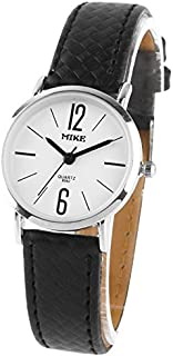 Songlin@yuan Modern Simplicity White Dial Men Quartz Leather Watch/Couple Watch Fashion (SKU : S-wa-0227b)