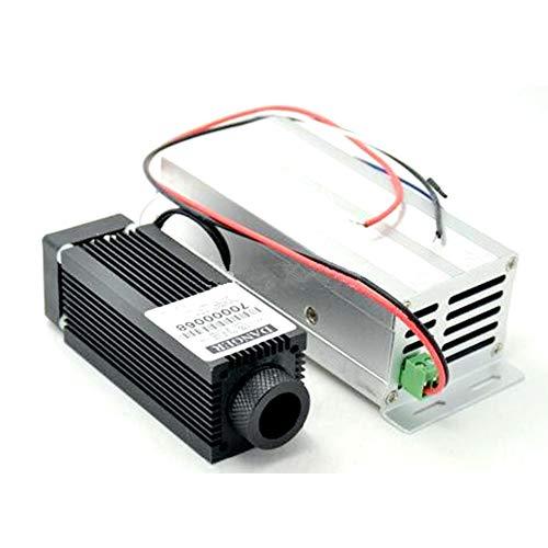 Alta Potencia 5W IR Diodo Laser 808nm 810nm 4W 4000mw infrarrojo láser Punto Módulo 12V TTL