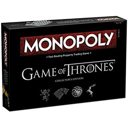 Nlight Juego De Tronos Deluxe Monopoly, para Fiestas, Familiares, Juegos De Mesa, Juegos De Mesa, Entretenimiento
