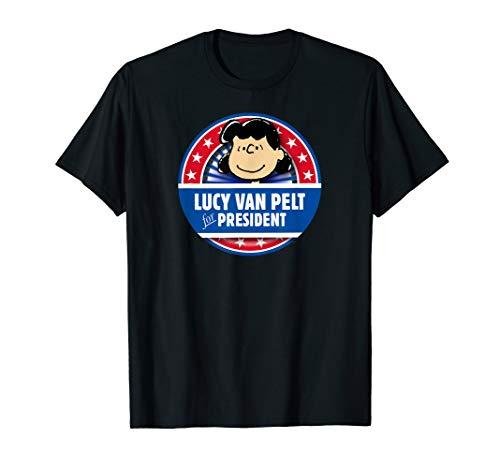 Peanuts Lucy Van Pelt for President T-Shirt