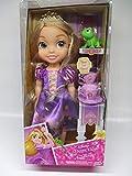 Jakks Pacific Disney Princesa Rapunzel 35 cm y Pascal con Set de Té para Dos Tea Time...