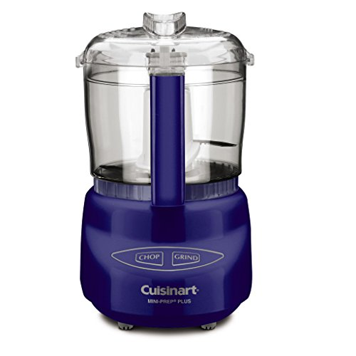 Cuisinart, Blue Mini-Prep Plus Food Processor, 24 Ounces