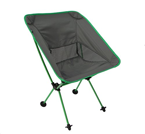 Travelchair Joey Chair, Portable Camping Chair, Super Compact Storage, Green, One size