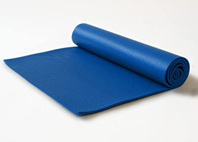 Bean Products PRO ECO Kalpa Blue Ultimate MAT for Yoga, Pilates and Jump - Super Thick - Extra Wide - Extra Long - Non Toxic Natural Rubber and Polymer Blend - Earth Friendly